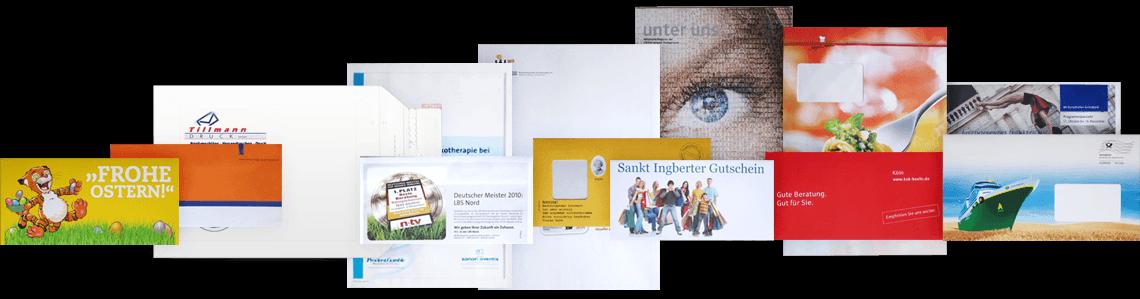 Tillmann Druck - Ihr Spezialist für Briefhüllen und Versandverpackungen
