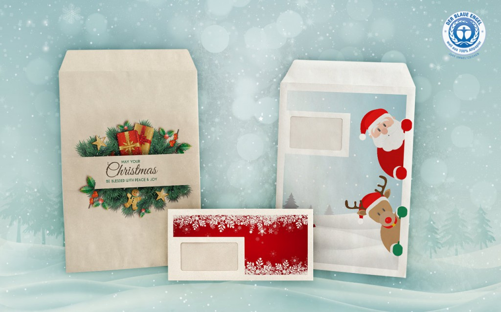 Recycling Weihnachtskarten